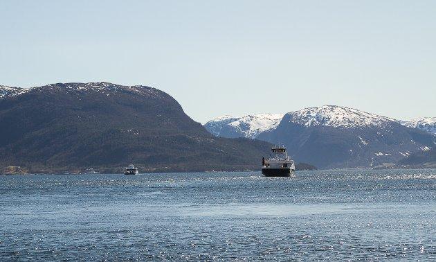 MF Stavanger og dei andre ferjene på E39 kan vere historie om 15–20 år og bli erstatta av bruer til 382 milliardar kroner.