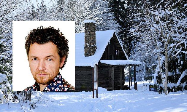 Skal jeg dra på hytta? Det spør kulturleder Helge Grønmo seg. Uten å bli så mye klokere på anbefalingene fra myndighetene.