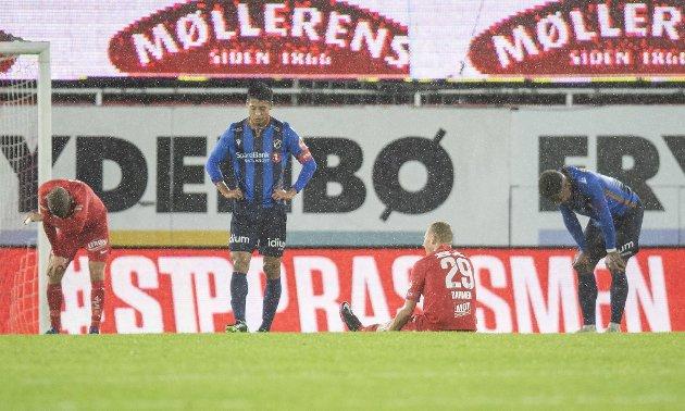 Brann holder nedrykks-form for øyeblikket. Det bekymrer Alexander Osdal. Lørdag ble det 1-1 mot Stabæk.