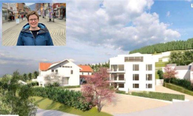 Vi treng ein utbyggingspolitikk i Lillehammer som, i langt større grad, tør å seie nei enn det har blitt gjort tidligere. Vi kan starte med å ta ned ein etasje på dei planlagde nybygga på blant anna Langseth-tunet, skriv Eva Marie Mathisen, medlem i planutvalget for Raudt.