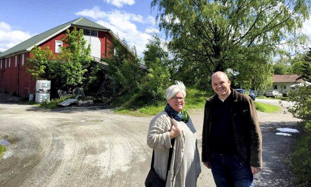 Mathall: Tone Bergflødt og Espen Lahnstein fra Senterpartiet lanserte ideen sommeren 2015.