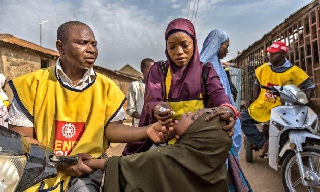 KAMP: Afrika har utryddet polio, påpeker artikkelforfatteren.