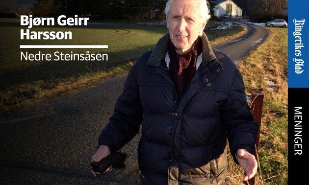 ANGREP: – Tonen i leserinnlegg må ha form av debatt, ikke personangrep, skriver Bjørn Geirr Harsson.