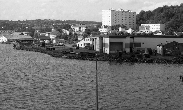 16. august 1980:    Kilen - med SMI i forgrunnen.