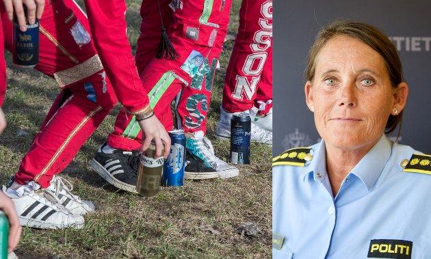 Nina Karstensen Bjørlo er leder av Felles enhet for forebygging i Sør-Øst politidistrikt.