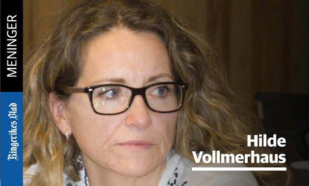 IDENTIFISERING: – Jeg mener avisen kunne vinklet artikkelen på veldig mange andre måter, skriver Hilde Vollmerhaus.