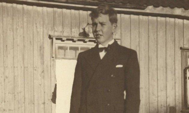 DRAMATISK: Rolf Olav Hobæk rømte fra familien for å slutte seg til motstandsstyrkene på Hadeland, hvor han ble skutt og drept.