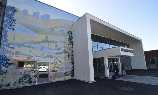Brøttum skole, en av flere skoler som diskuteres nedlagt.
