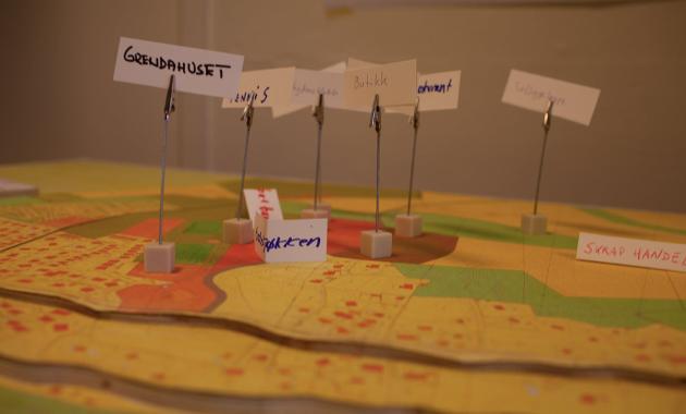 Bilde fra Kolnes utviklingsforum 15.02.2020 (prosjekt med fokus på sosial innovasjon og innbyggermedvirkning)