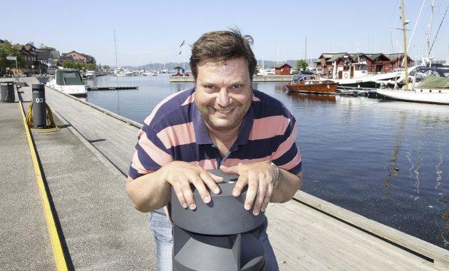 I fjor: «Stolpejakten» ble introdusert i fjor av Yngve Mobråthen. Det ble en trimsuksess. Foto: Pål Nordby
