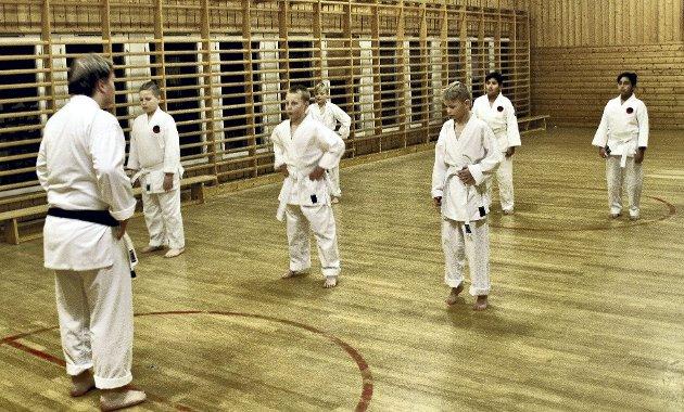 Ordner seg: Karateklubben er et godt eksempel på at prispolitikken kanskje må ses på en gang til. Foto: Arne Vidar Stølan