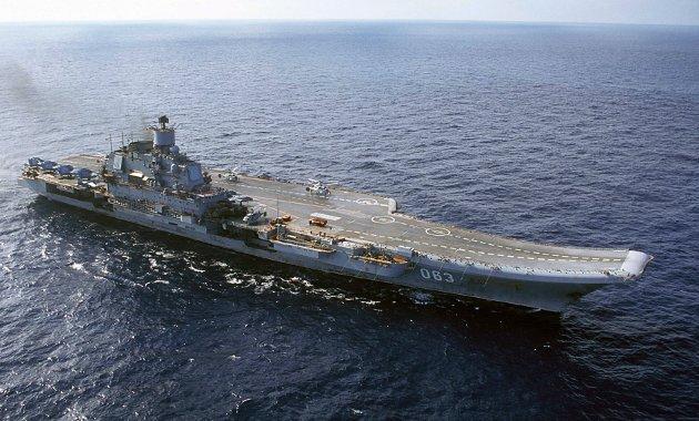 Russerne strever for tiden standhaftig videre med å bygge om hangarskipet Admiral Kuznetsov. Kan det skje med norsk motorteknologi? undrer forsvarsanalytiker John Berg.