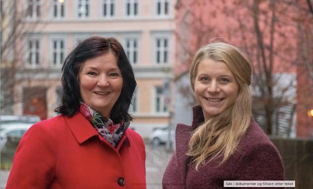 Bildet er av Ida Lindtveit Røse og Britt Gullbrandsen