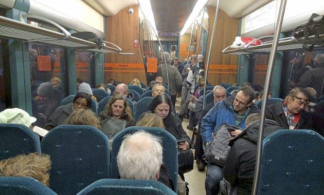 Bedre: Politikerne lover å slåss for at Østre linje skal bli bedre. arkivfoto