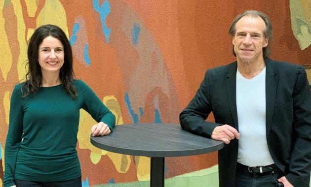 Jenny Klinge og Jan Bøhler