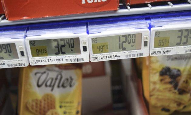 Forrige uke kunne BA, Nettavisen og ni andre lokalaviser melde at Rema 1000 har betydelig høyere priser på enkelte varer utenfor Oslo som i hovedstaden. FOTO: Kaspar Knudsen