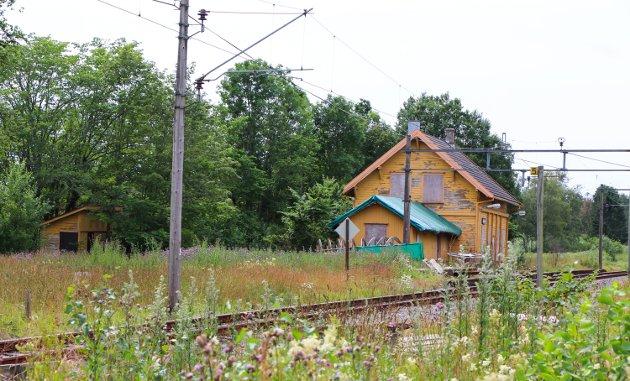 Kulturminne: Leserbrevskribenten etterlyser vilje til å ta vare på stasjonsbygningen på Gautestad.