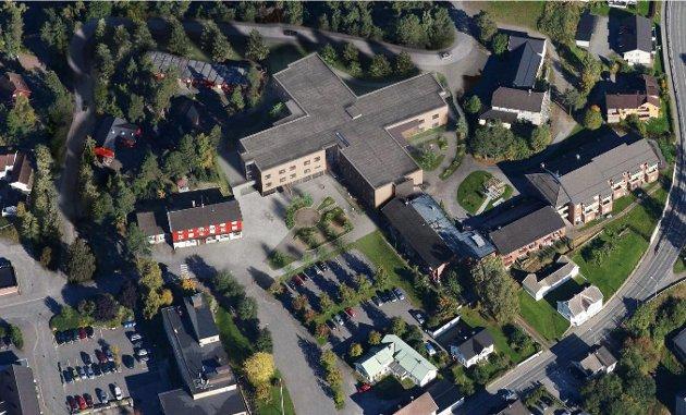Feil tomt: Mange mener plassering av nytt sjukehjem i Moelv kommer på feil tomt.