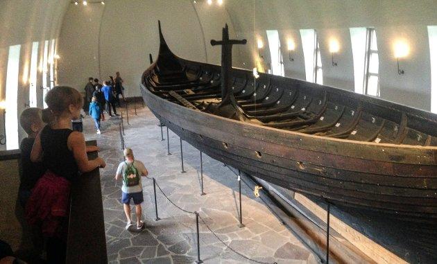 GOKSTADSKIPET: Vikingskipshuset på Bygdøy er et av våre mest besøkte museer – fordi det ligger i Oslo.