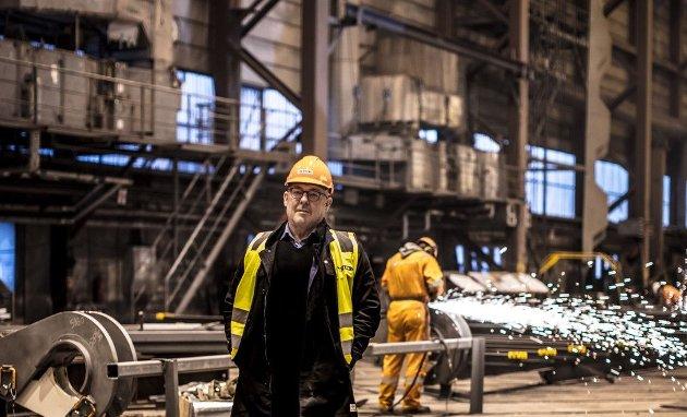 Stein Kvalsund, dagleg leiar i Hub for Ocean