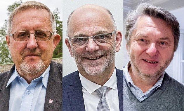 – Det som er kalt den norske modellen blir viktig også i tida fremover, mener trioen Agnalt, Moe og Simensen.