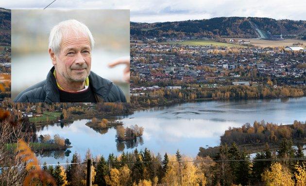 NY E6: Dagens trasé kan med fordel forbedres, men en ny 4-felts motorvei med fartsgrense 110 km/t er etter vår mening et lovbrudd, skriver Torbjørn Dahl, leder i Lågendeltaets venner.