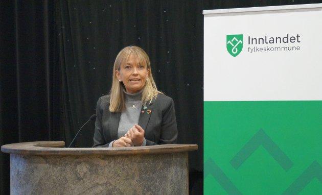 POTENSIAL: - Det er et stort potensial for en bedre tjeneste for innbyggerne når vi ikke splitter opp Innlandet i bussrute-kontrakter, skriver Mona Stormoen.