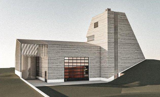 Beitostølen: Slik blir det nye bygget til Stølslie Biovarme.