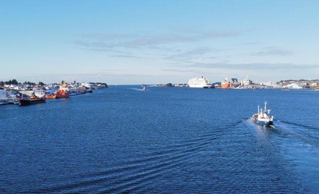 MARITIMT TYNGDEPUNKT: Haugalandet må vurderes som hjem for GIEK/Eksportkreditt.