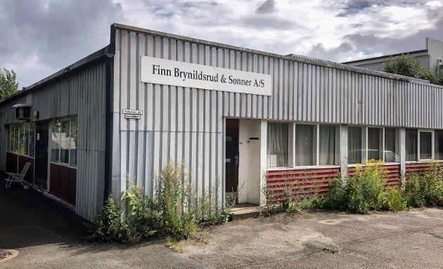 ANONYMT: Det er neppe fasaden Finn Brynildsrud & Sønner i Kallumveien selger sine tjenester på, men derimot solid kompetanse og et godt renommé.