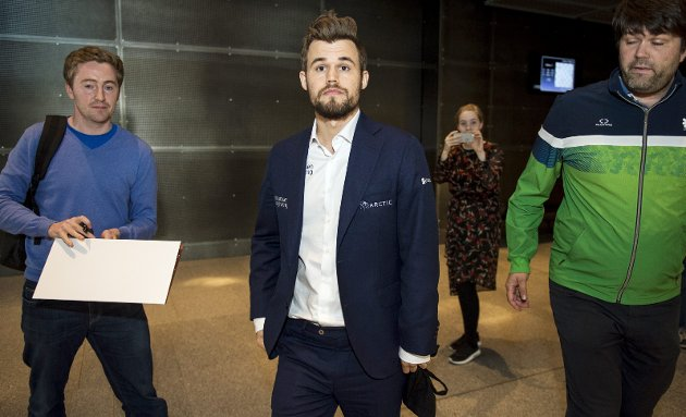 Kontroversiell: Magnus Carlsen kjemper for at Norges Sjakkforbund skal inngå en avtale med spillselskapet Kindred. Det vil gi 50 millioner kroner i sponsorpenger de neste fem årene.