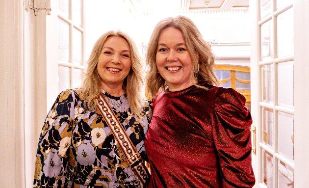Anita Håholm og Elin Haugan har aldri vært på premiere før.