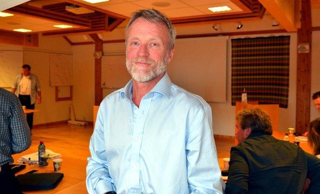 TAR OPP EIENDOMSSKATT: Morten Steinsrud, 5.-kandidat til kommunevalget for Øystre Slidre Senterparti.