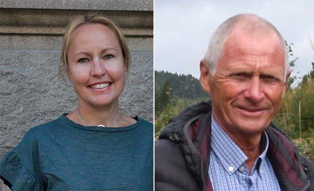 Nils-Petter Wiik, Enebakk Sp og Kari Mette Prestrud, 1. vara Sp Akershus Stortinget.