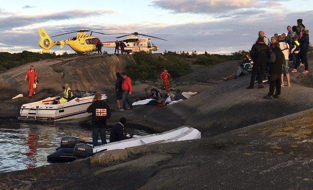 40+: Båtulykken på Hvaler «passer» i mønsteret. Føreren var en mann i 40-årene.leserfoto