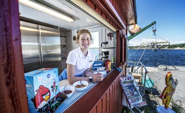 Driftig: Nora Solhøi Tvete fikk ikke sommer-jobb, og skapte sin egen.foto: geir a. carlsson
