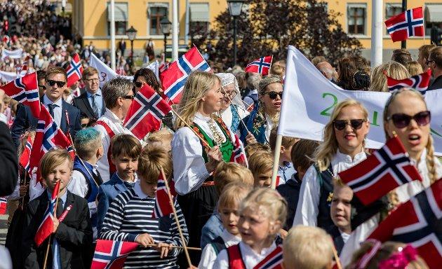 TOGDEBATT: Illustrasjonsbilde fra årets barnetog på 17. mai.