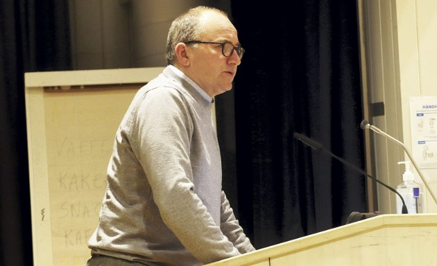 Mot eiendomsskatt? Forslaget må eventuelt komme fra kommunedirektør Hans Erik Utne. Foto: Pål Nordby