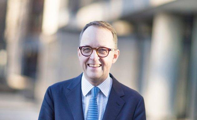 Oluf Ulseth, adm. direktør i Energi Norge, argumenterer for den nye tariffen for nettleie Fredrikstad Nett har innført.