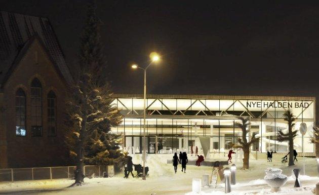 IKKE I SENTRUM: Innsenderen vil ikke ha ny svømmehall i sentrum.