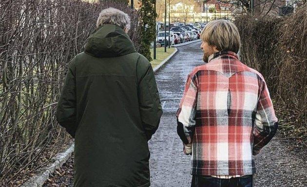 Ut på tur: – Jeg går en tur med deg når som helst – og jeg kan snakke om hva som helst, skriver Håkon Ohlgren i dagens Signert.