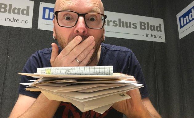 – Vi lover å skjerpe oss, skriver journalist Øyvind Henningsen i Indre Akershus Blad.
