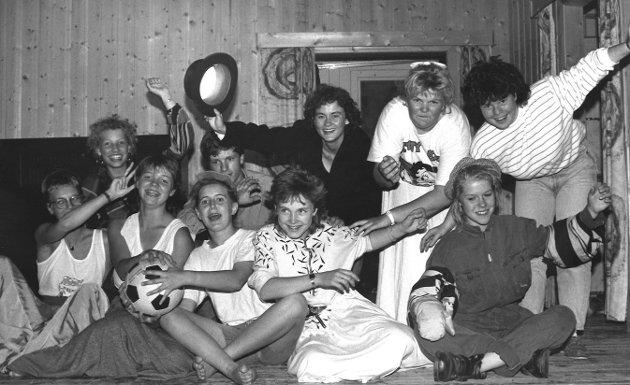 Vestby BUs revygjeng, En munter Vestby-fallitt. 1988.