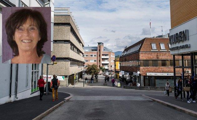 MER SAMARBEID: Det er viktig at Hønefoss sentrum kan tilby alle de tjenester kundene ønsker seg. Samarbeid er stikkordet, skriver Lise Bye Jøntvedt.