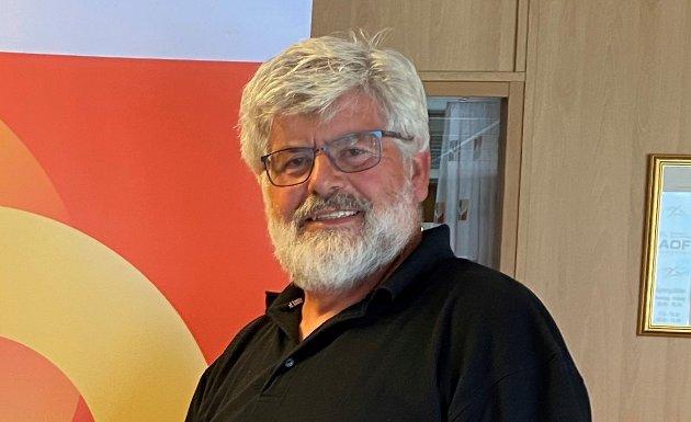 Bjørn Eriksen, leder i Pensjonistforbundet Østfold.