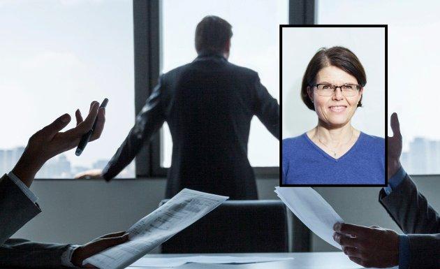 OPPLEVER MYE: Som karriererådgiver ser Cecilie Haraldsen at det er mange tøffe tak i arbeidslivet.