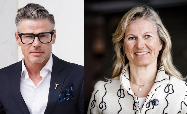 Jarle Moen, styreleder i NHO Reiselivs regionstyre Viken Oslo og Managing Director at Sommerro og Kristin Krohn Devold, administrerende direktør i NHO Reiseliv.