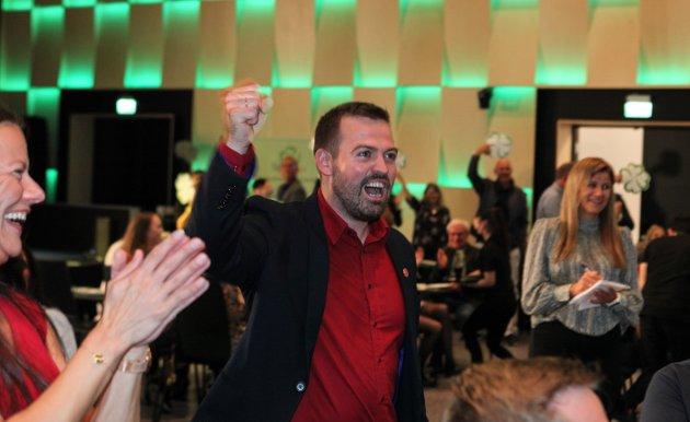 Arbeidarpartiet sin førstekandidat, Torbjørn Vereide ser kva veg dette ber.