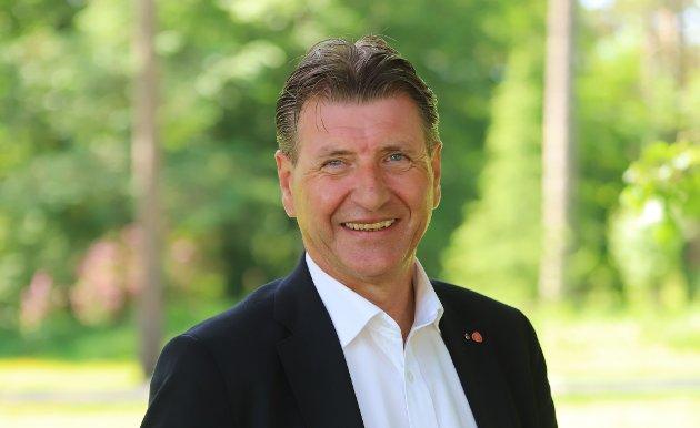 Stein Erik Lauvås, stortingsrepresentant og 3.-kandidat for Østfold Arbeiderparti.
