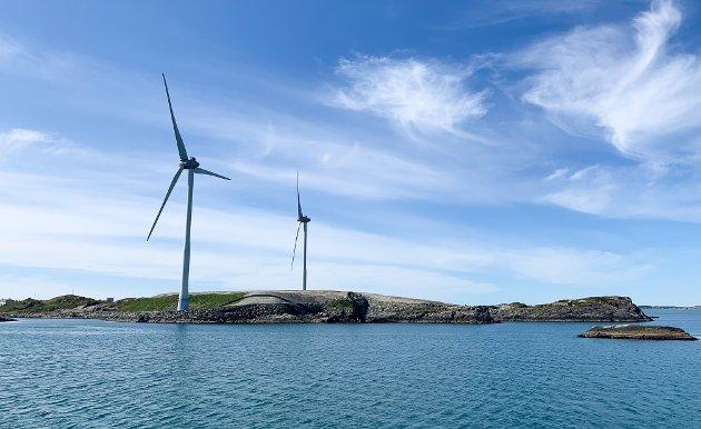31.05.2020 Karmøy Haugesund vindmøller vindkraft strøm vær sol storøy